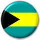 Bahamas Country Flag 25mm Pin Button Badge